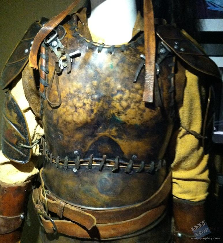 Warrior Film Online: Roneth's Helmet And Battle Armor Wardrobe From The 13th