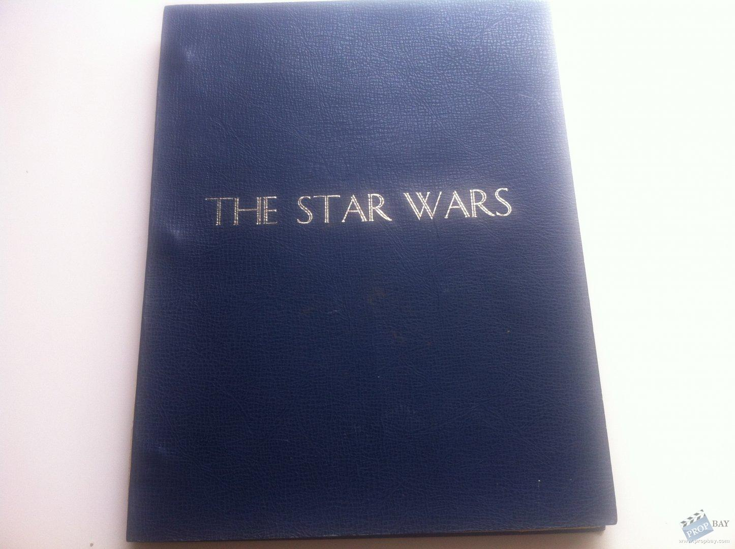 Star Wars Third Draft Script Film Production From Star Wars Episode Iv A New Hope 1977 Online Movie Memorabilia Archive And Marketplace Propbay Com