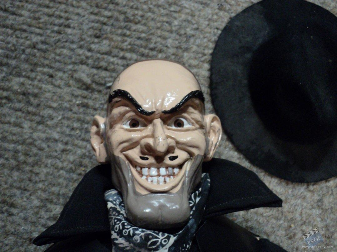 six shooter rod puppet movie prop from puppet master x