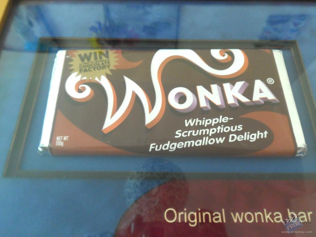 Whipple-Scrumptious Fudgemallow Delight Wonka Chocolate Bar Movie ...