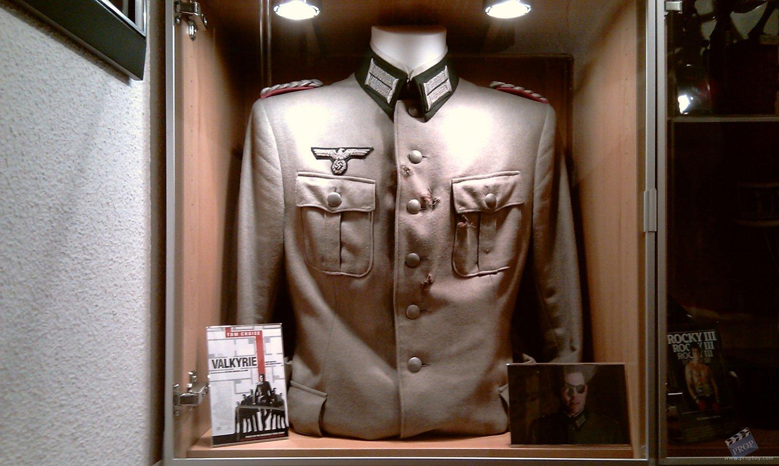 Colonel Claus Von Stauffenberg Tom Cruise Firing Squad Uniform Wardrobe From Valkyrie 2008 Online Movie Memorabilia Archive And Marketplace Propbay Com