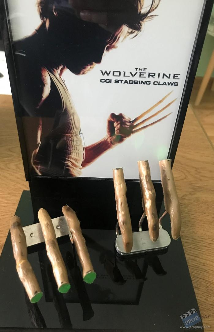 The wolverine hugh jackman sfx cgi stabbing bone claws - Wolverine cgi ...
