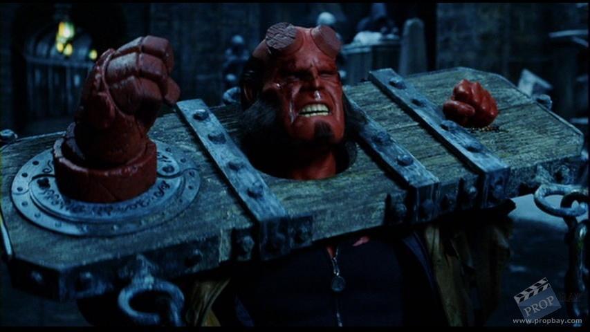 hellboy ron perlman stocks movie prop from hellboy 2004 online