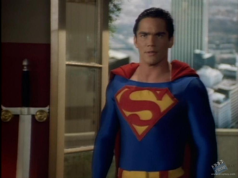 Dean Cain Superman Flying