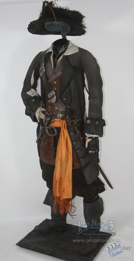 Captain Barbossa Costume Wardrobe From Pirates Of The
