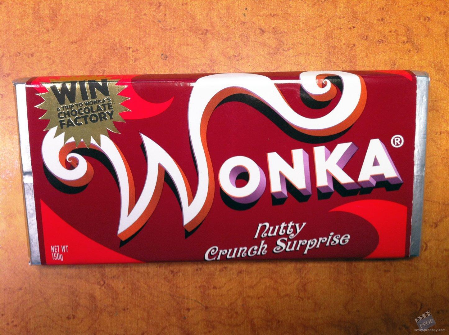 Wonka's 'Nutty Crunch Surprise' Hero Chocolate Bar Movie ...