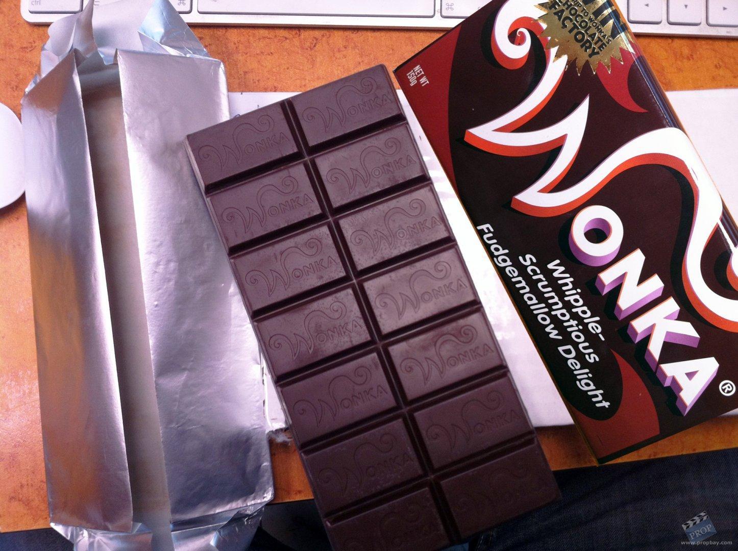 Wonka's 'Whipple-Scrumptious Fudgemallow Delight' Hero Chocolate ...