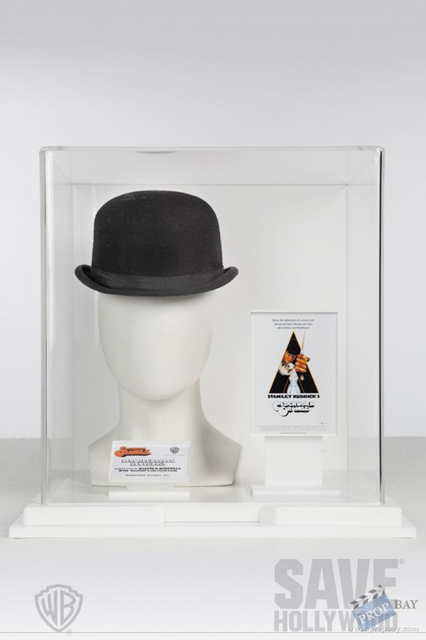 A CLOCKWORK ORANGE BOWLER HAT CULT MOVIE QUOTE STICKER WALL ART VARIOUS COLOURS