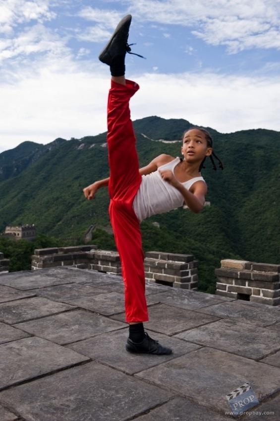 Jaden Smith The Karate Kid Training