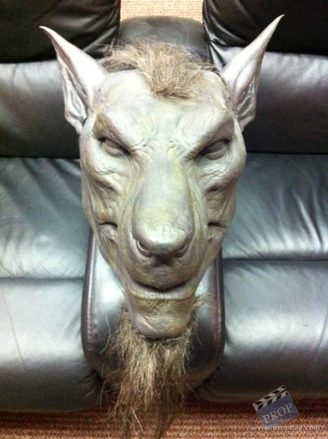 rise of the lycans ninja lycan head movie prop from