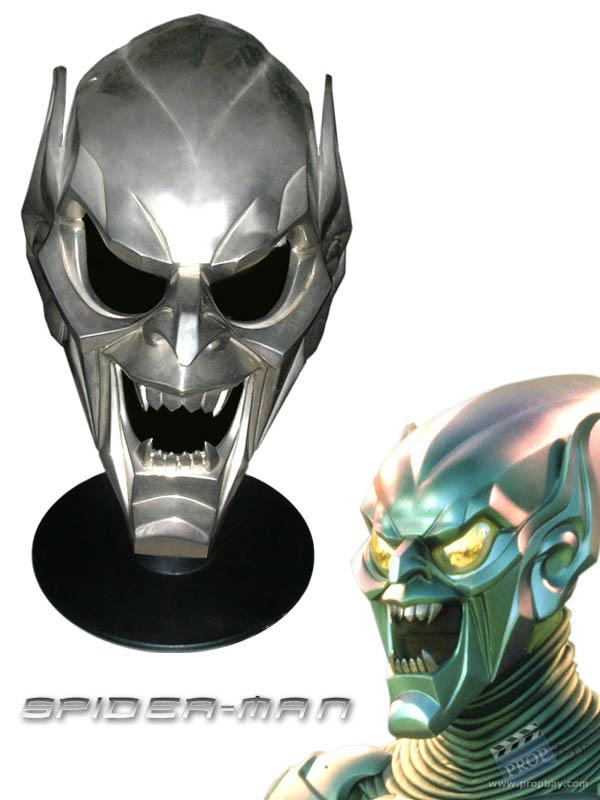 Item Details  sc 1 st  PROPbay.com & Green Goblin 1of 3 Prototype Mask Film Production from Spider-Man ...