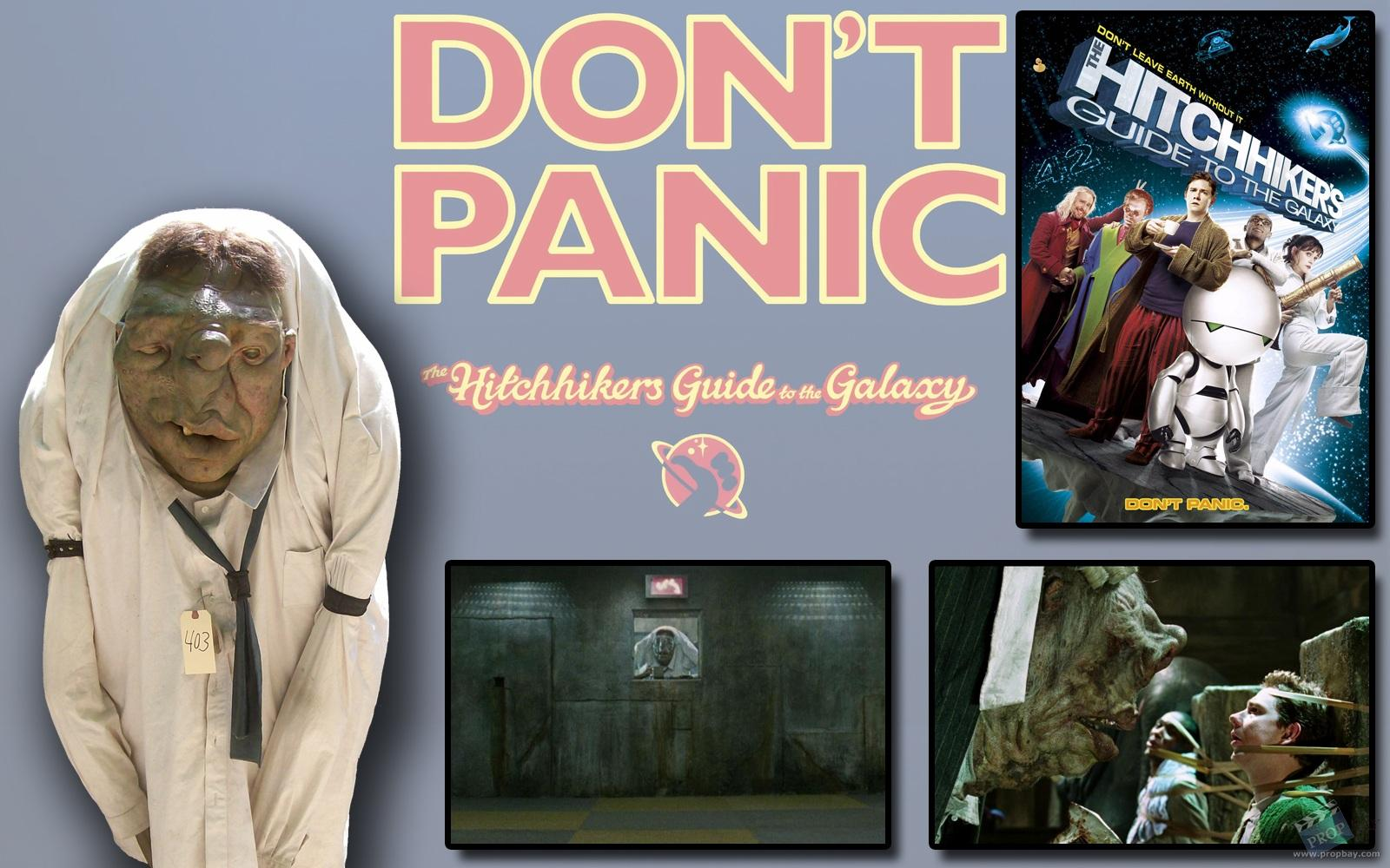 Vogon Puppet Movie Prop From The Hitchhiker S Guide To The