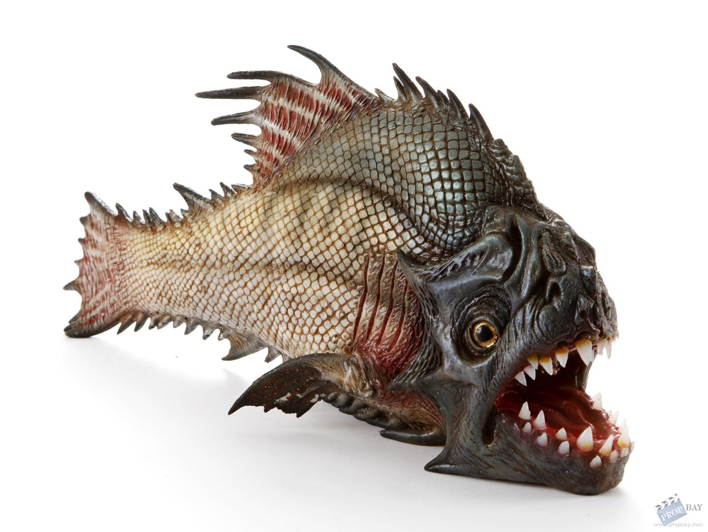 Hero silicone piranha fish movie prop from piranha 3dd for Pictures of piranha fish