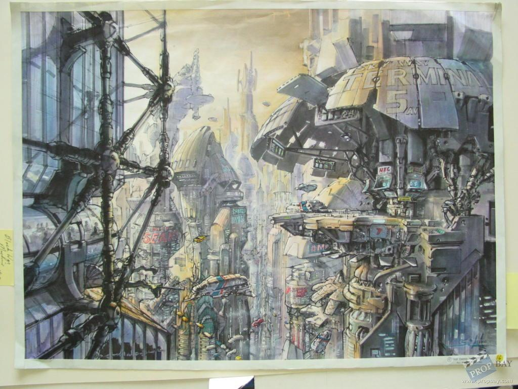 original concept art by kev walker film production from