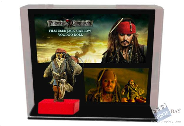 Caribbean Voodoo: Jack Sparrow Voodoo Doll Movie Prop From Pirates Of The