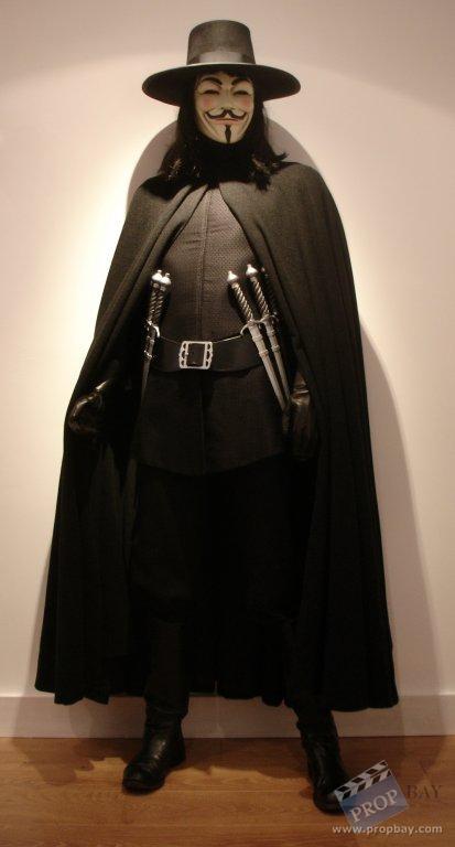 v costume wardrobe from v for vendetta 2005 online