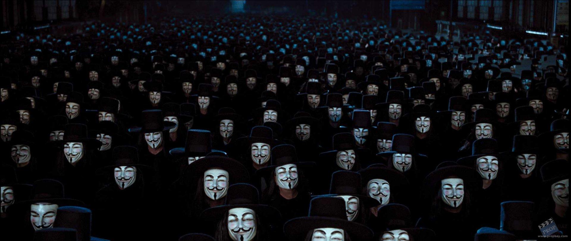V For Vendetta Mask Wallpaper Army V For Vendetta Mask - ...