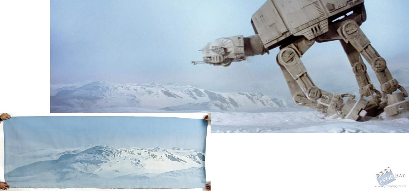 Star Wars Matte Paintings For Sale