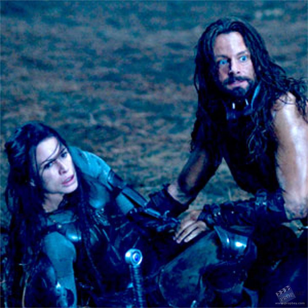 Sonja (Rhona Mitra) Armor Lycan battle damage Wardrobe ...