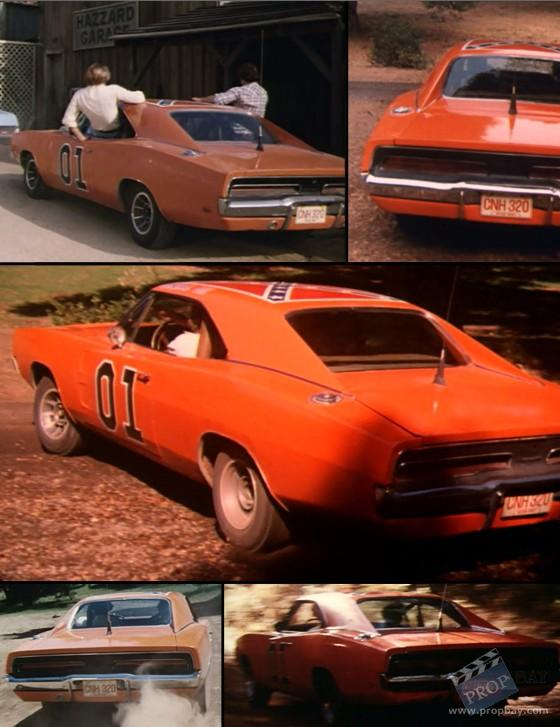 Original General Lee License Plate Movie Prop From The Dukes Of Hazzard Tv 1979 Online