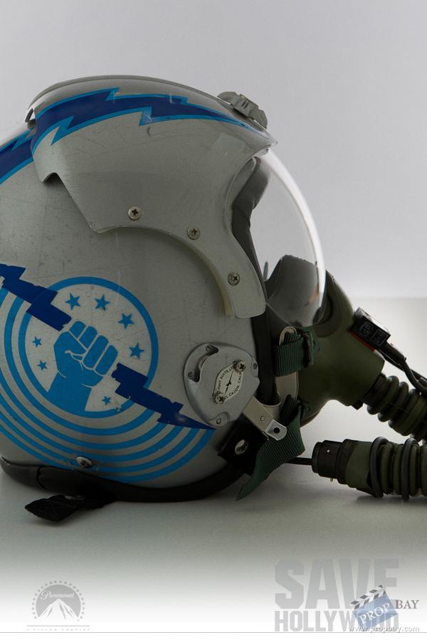 Iceman's Fighter Helmet Wardrobe from Top Gun (1986 ...