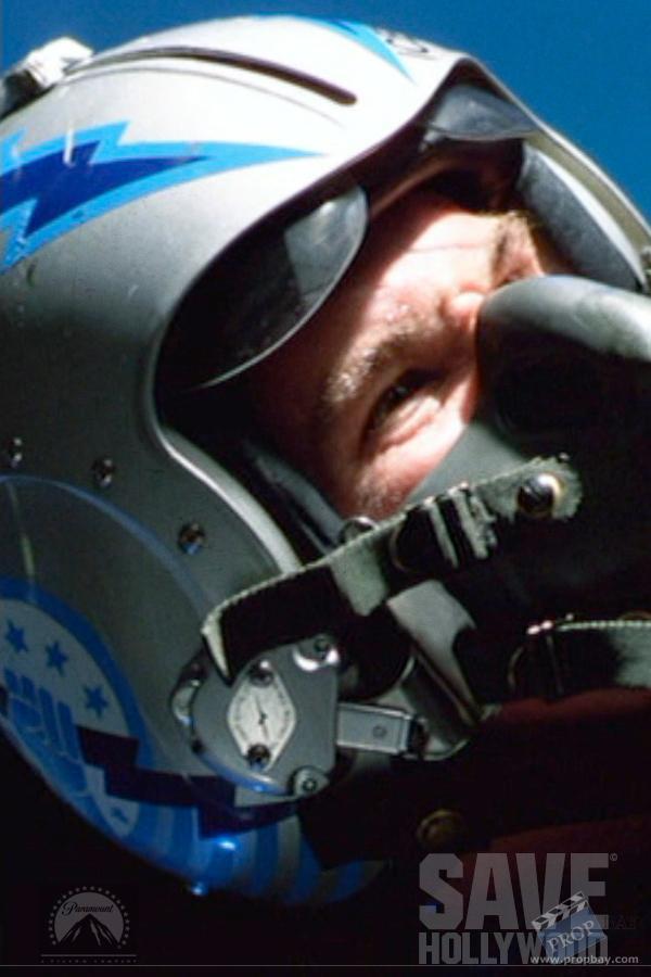 Iceman S Fighter Helmet Wardrobe From Top Gun 1986
