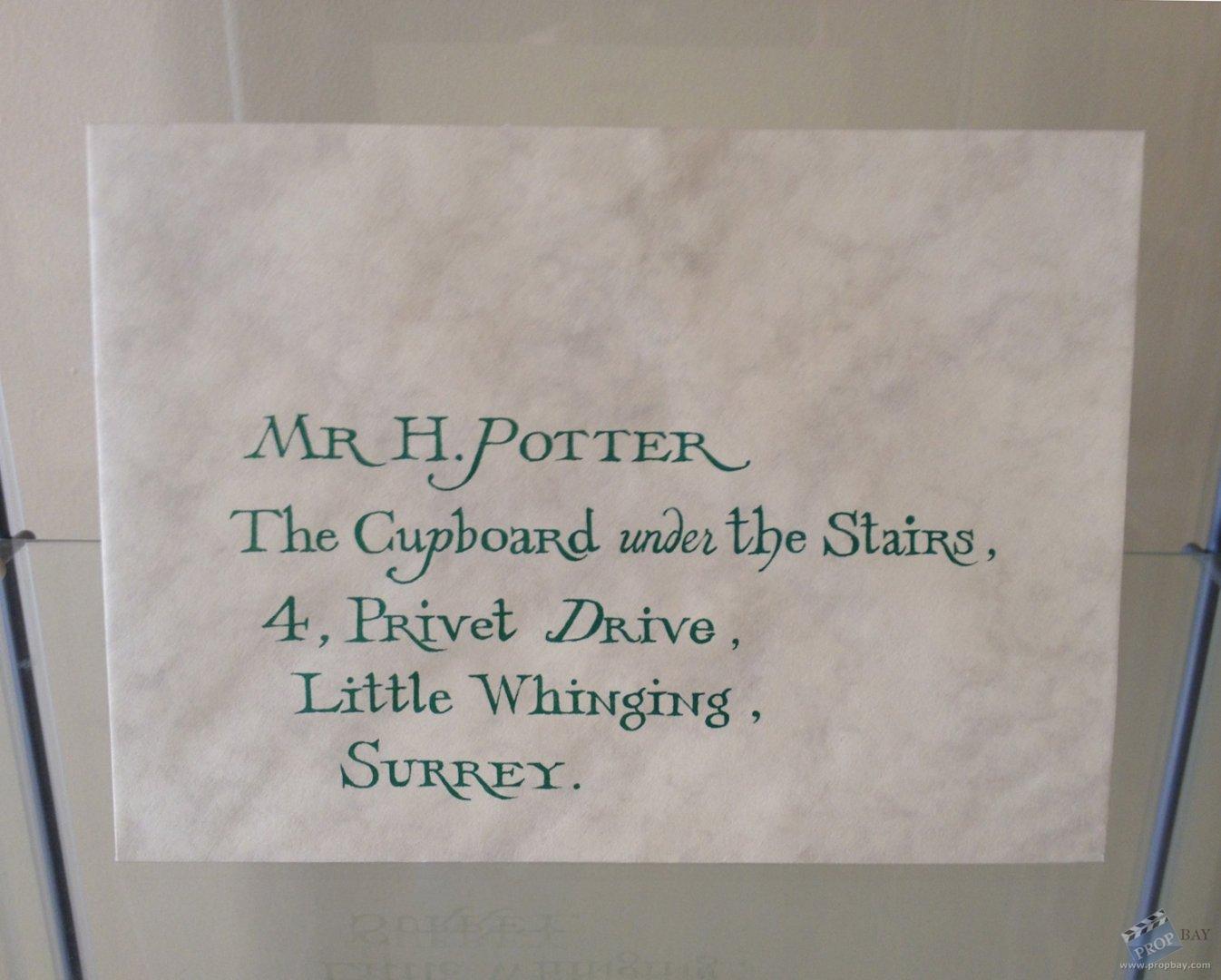 Hogwarts Invitation Envelope Movie Prop from Harry Potter ...