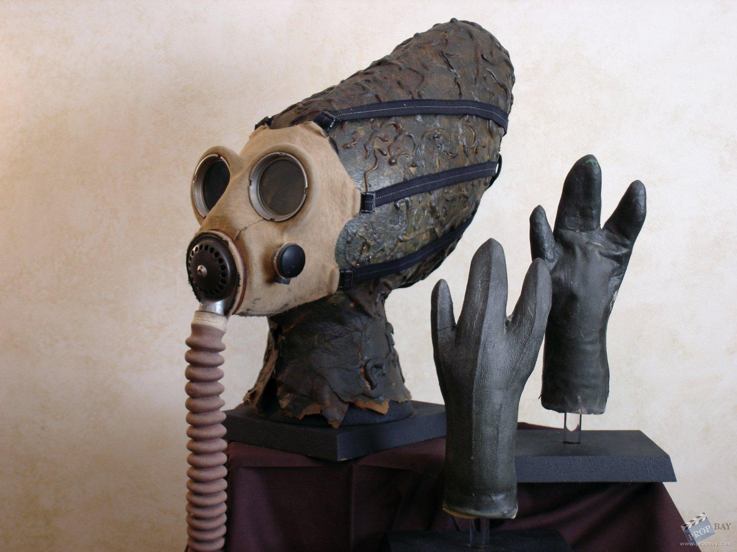 nabrun leids cantina alien mask and hands movie prop from